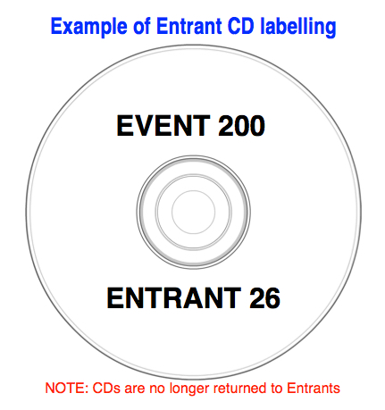CD LABEL EXAMPLE